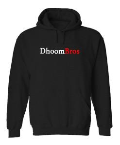 dhoombros black hoodie
