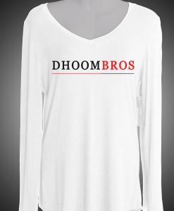 dhoombros Ladies shirt white