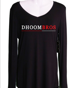 dhoombros black Ladies shirt